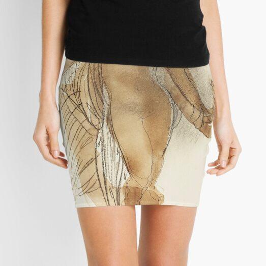 Naked Woman Dancing Mini Skirt
