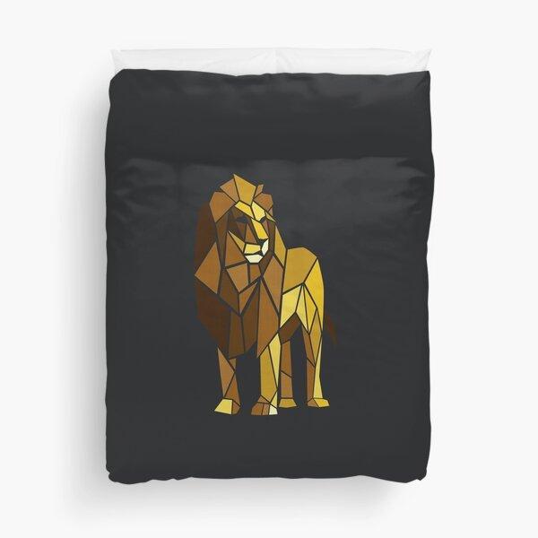 Shape of Lion Duvet Cover