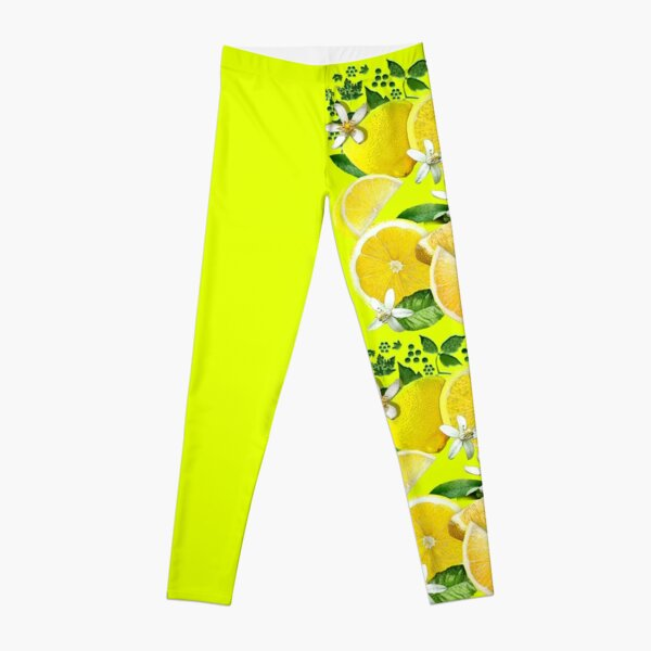 Acid Lemons from Calabria Leggings