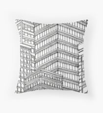 Skyscrapers Throw Pillow