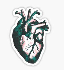 Verdigris Heart! Sticker
