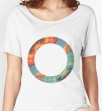 Colorful ring Women's Relaxed Fit T-Shirt