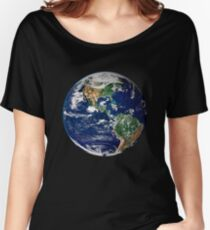 Earth from Space Women's Relaxed Fit T-Shirt