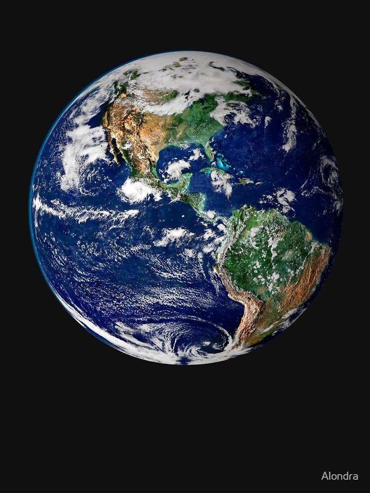 Erde aus dem Weltraum von Alondra
