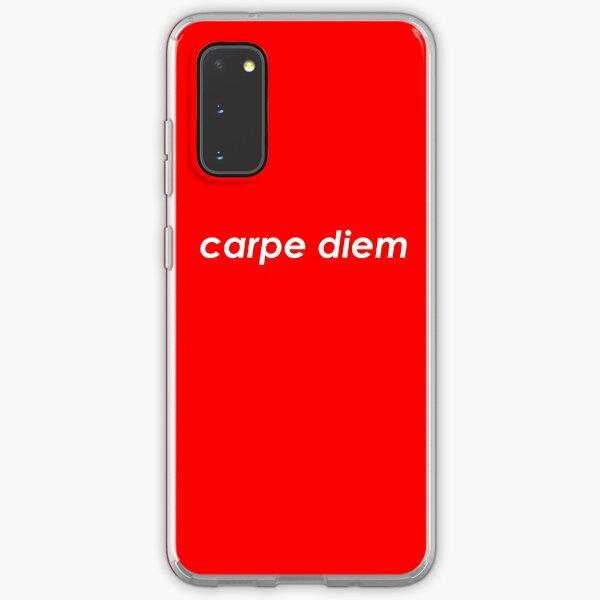 Carpe diem Samsung Galaxy Soft Case