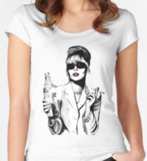 patsy stone Women's Fitted Scoop T-Shirt