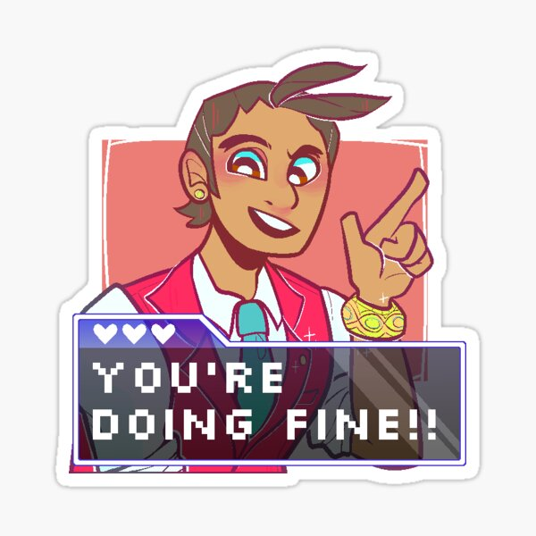 Spirit of Encouragement! (Apollo) Sticker