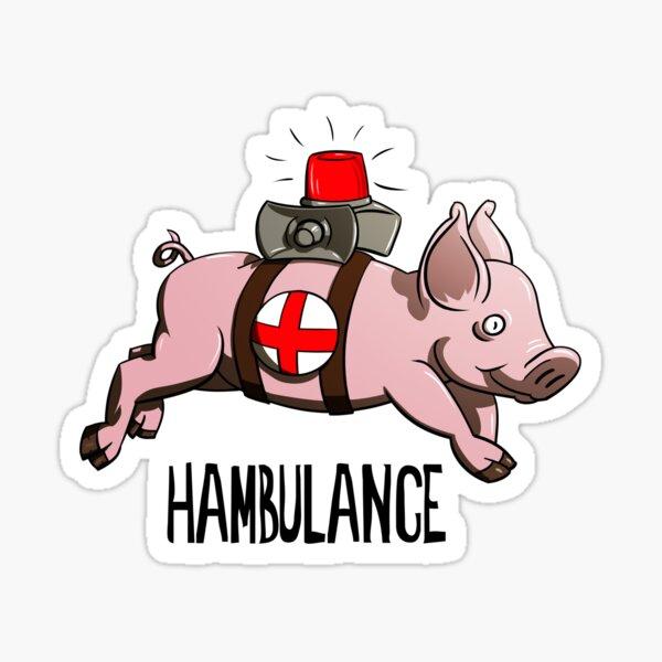 Hambulance Sticker
