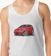 Cartoon Car Tank Top