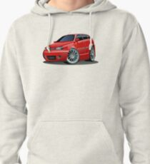 Cartoon Car Pullover Hoodie