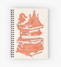 Magic of books Spiral Notebook