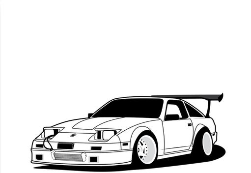 Nerusokin Z31 300zx Canvas Prints By Neuefab