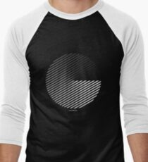 Stripes can be in a disc Men's Baseball ¾ T-Shirt