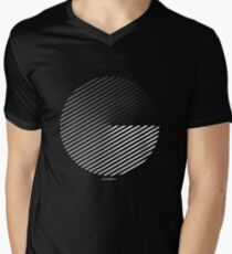 Stripes can be in a disc Men's V-Neck T-Shirt