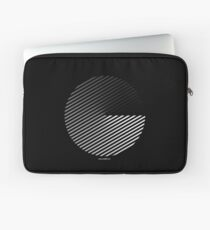 Stripes can be in a disc Laptop Sleeve