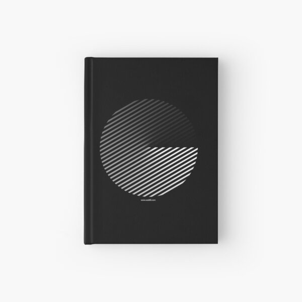 Stripes can be in a disc Hardcover Journal