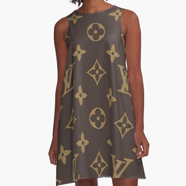 fendi, collage, trendy, pattern, top pattern, summer, zz A-Line Dress