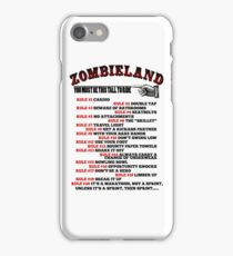 This tall to ride Zombieland iPhone Case/Skin