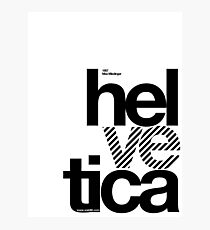 Hel ve tica (b) .... Photographic Print