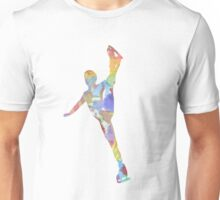 Multi-colour Skater Unisex T-Shirt