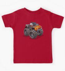 Cartoon monster truck Kids Clothes
