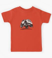 Cartoon Jeep Wrangler Kids Clothes