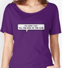 End Of The Line Women's Relaxed Fit T-Shirt