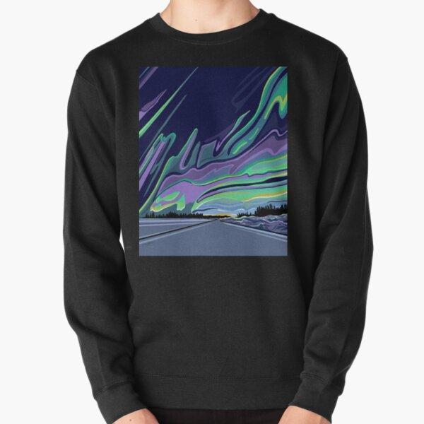 The Road to Aurora by Linda Sholberg Pullover Sweatshirt
