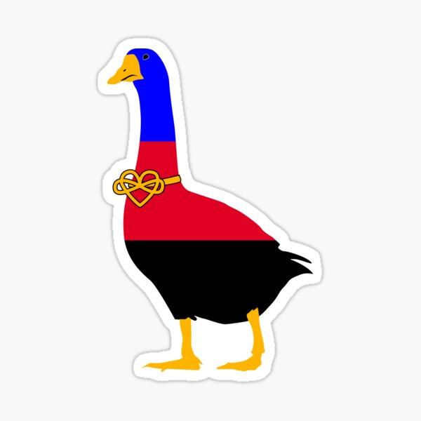 Polyamory Pride Goose Sticker