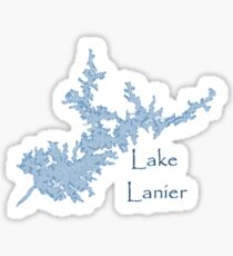 Lake Lanier Georgia Sticker