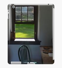 A Chair by a Window iPad Case/Skin