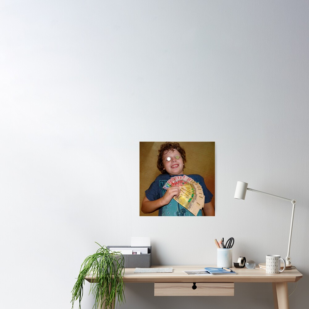 kid with money Poster