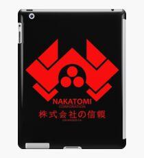 NAKATOMI PLAZA - DIE HARD BRUCE WILLIS (RED) iPad Case/Skin