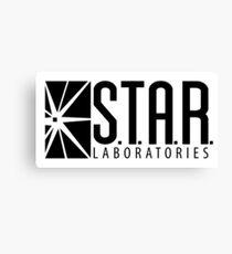 S.T.A.R. Laboratories | Black [HD] Canvas Print
