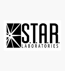 S.T.A.R. Laboratories | Black [HD] Photographic Print