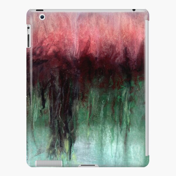 Red and Green Mystery iPad Snap Case