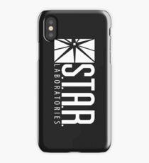 S.T.A.R Laboratories   White [HD] iPhone Case/Skin