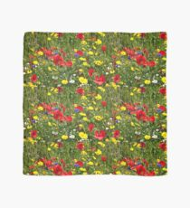 Colourful Wild Flowers Scarf