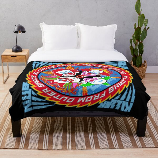 Rock and Laugh Throw Blanket