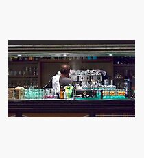 One Hot Espresso Coming Up! Photographic Print