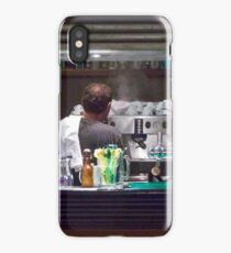 One Hot Espresso Coming Up! iPhone Case/Skin