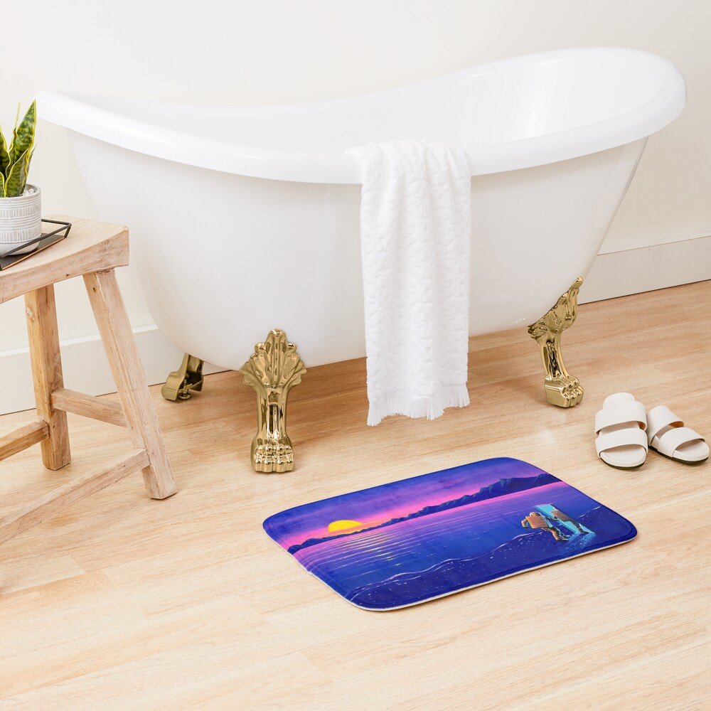 One Last Look Bath Mat