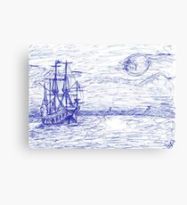Piratenschiff Canvas Print
