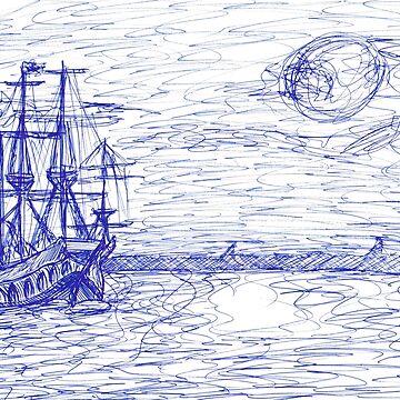 Piratenschiff by GinnyWeasley95