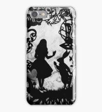 Alice Paper Cutout Mono iPhone Case/Skin