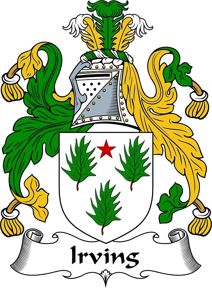 Irving Coat of Arms / Irving Family Crest by ScotlandForever