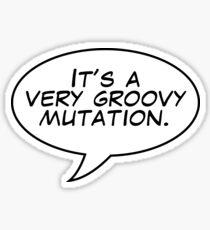 It's a mutation. Sticker