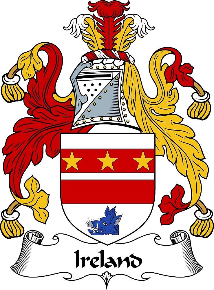 Ireland Coat of Arms / Ireland Family Crest by ScotlandForever