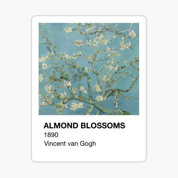 Almond Blossoms Vincent van Gogh Pantone Card Sticker