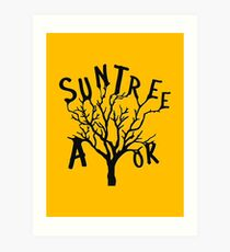SUN TREE A-OK (Critical Role Fan Design)  Art Print